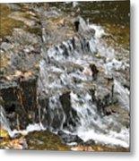Gentle Falls Metal Print