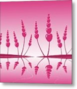 Gentle Hearts Metal Print