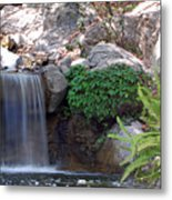 Gentle Waterfall Metal Print