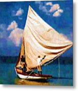 Gentle Winds Metal Print