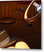 Gentleman's Hat Metal Print