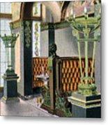 Gentlemen's Grill - Alexandria Hotel - Los Angeles - 1910s Metal Print