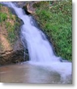 Gently Flowing Metal Print