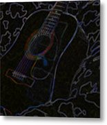 Gently Weeps Metal Print by Holly Ethan