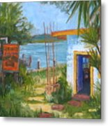 Genung Fish Camp Metal Print
