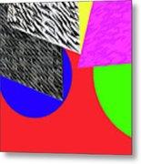 Geo Shapes 2a Metal Print