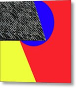 Geo Shapes 4a Metal Print