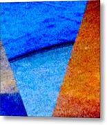 Geometric 2b  Abstract Metal Print