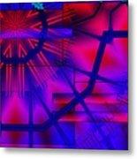 Geometric 3 Metal Print