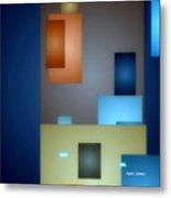 Geometric Abstract 0790  Metal Print