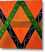 Geometric Abstract II Metal Print