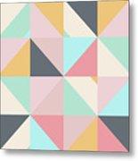 Geometric Pattern Xv Metal Print