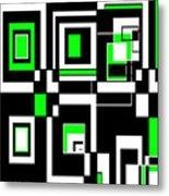 Geometric Pizazz 4 Metal Print