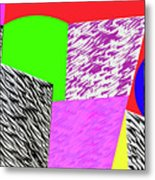 Geometric Shapes 1 Metal Print