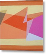 Geometry Shapes And Colors 6 Metal Print