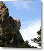 George At Mount Rushmore Metal Print
