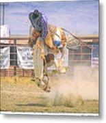 George Barton Mcdermitt Nevada 2008 Metal Print