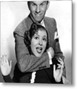 George Burns And Gracie Allen, 1936 Metal Print