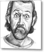 George Carlin Metal Print