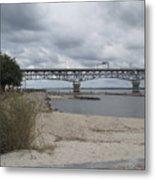 George Coleman Bridge Yorktown, Virginia Metal Print
