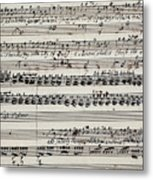 George Frederick Handel Metal Print
