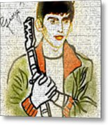 George Harrison - 1 Metal Print