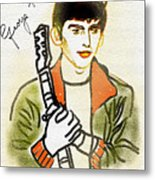 George Harrison - 2 Metal Print