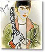 George Harrison - 3 Metal Print