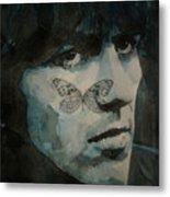 George Harrison @ Butterfly Metal Print