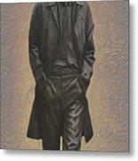 George Harrison N F Metal Print