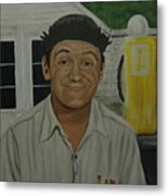 George Lindsey As Goober Metal Print