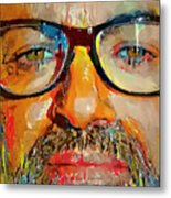 George Michael Tribute 2 Metal Print