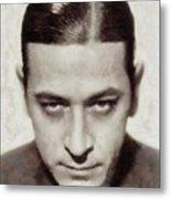 George Raft, Vintage Actor Metal Print
