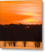 George T. Bagby State Park Sunset Metal Print