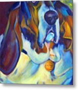 George The Bassett Metal Print