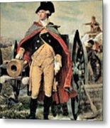 George Washington At Dorchester Heights Metal Print by Emanuel Gottlieb Leutze