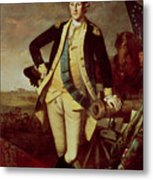 George Washington At Princeton Metal Print by Charles Willson Peale