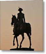 George Washington At Sunrise Metal Print