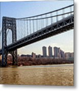 George Washington Bridge Metal Print