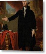 George Washington Lansdowne Portrait Metal Print