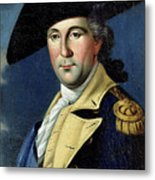 George Washington Metal Print by Samuel King