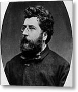Georges Bizet, French Composer Metal Print