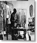 Georges Braque (1882-1963) Metal Print