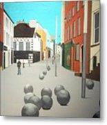 George's Street, Waterford Metal Print
