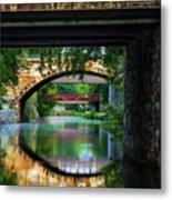 Georgetown Canal Bridges Metal Print