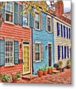Georgetown Row House Metal Print