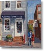 Georgetown Tee's Metal Print