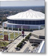 Georgia Dome In Atlanta Metal Print