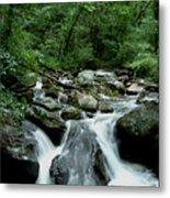 Georgia Mountian Stream Metal Print