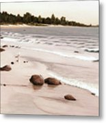Georgian Bay Beach Metal Print